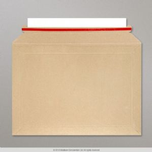 Rigid Board Envelope - 194x292 mm Capacity Book Mailer